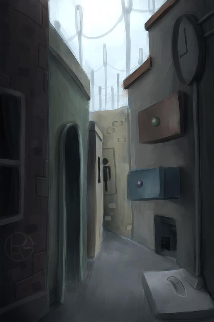 Street by Py-Bun