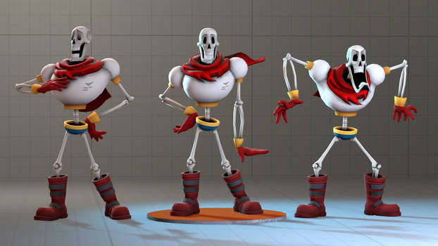 Papyrus Model for SFM by Py-Bun