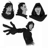 more kylo ren by Py-Bun