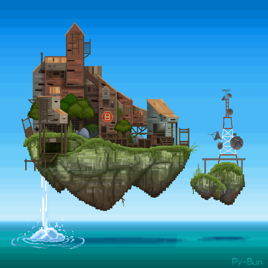 Glixel Abandoned Upward by Py-Bun