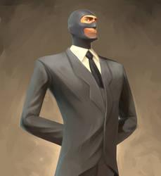 Spy Portrait by Py-Bun