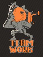 Teamwork by Py-Bun