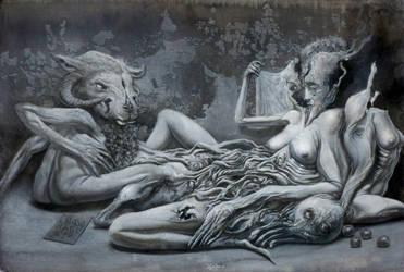 Daphne and Apollo by PeteHamilton