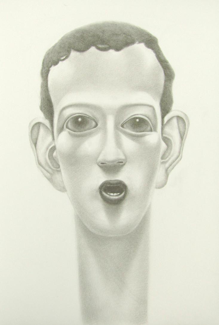 mark zuckerberg by PeteHamilton