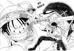 Luffy Vs Zoro