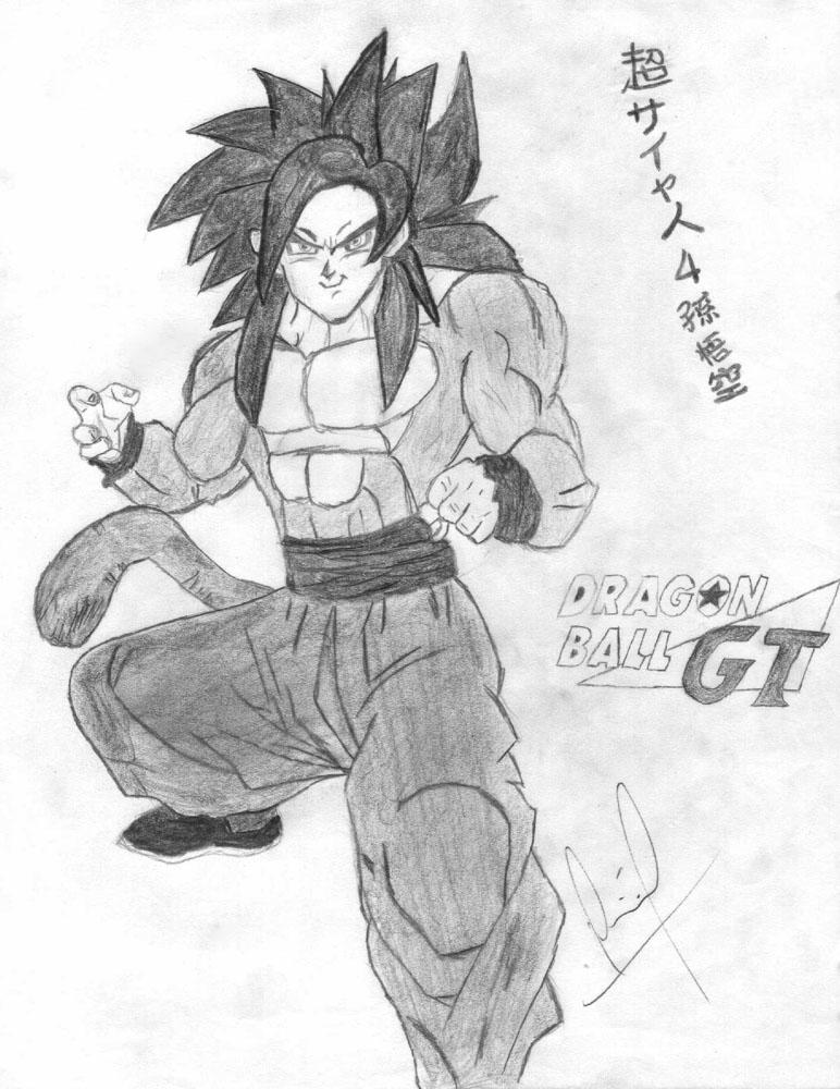 Son Goku Ssj4 By Luffywkf On Deviantart