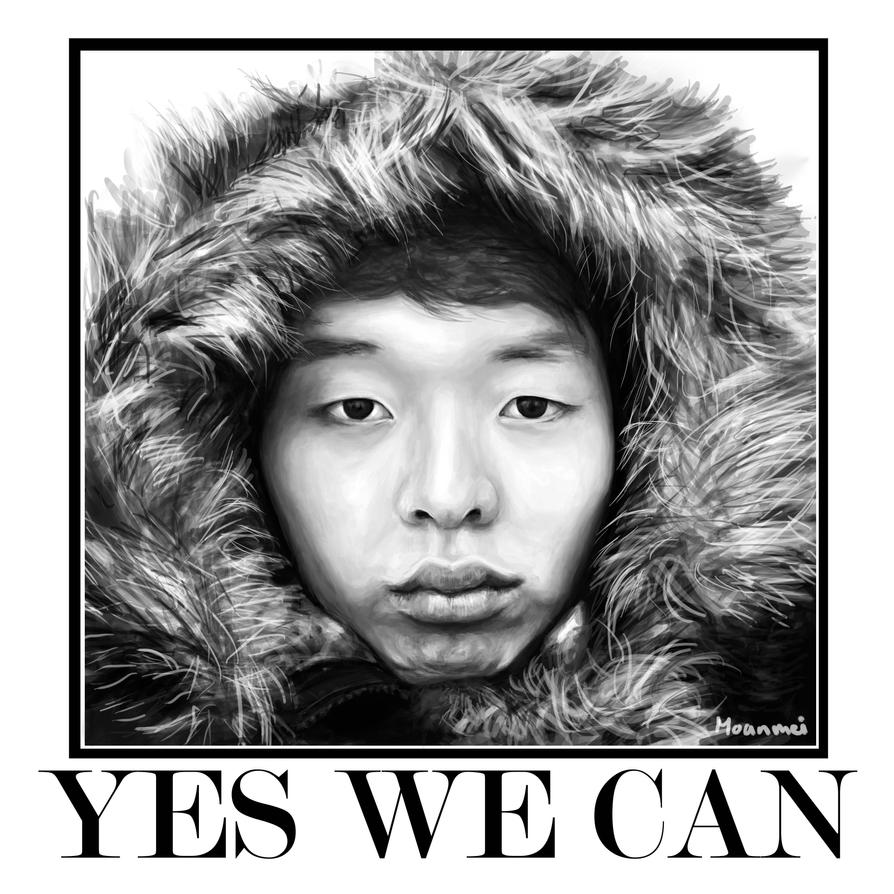 Yes we can by ablackangelstear on deviantart for Bett yes we can