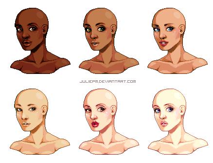 Portrait Base by JuliePM