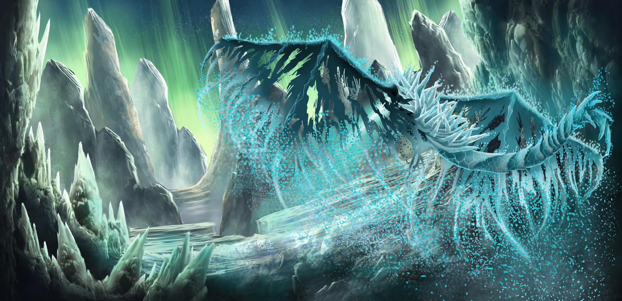 Frost Dragon: Frost Dragon By Hellkrusher On DeviantArt