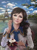 Elizabeth of Bioshock by Hellkrusher