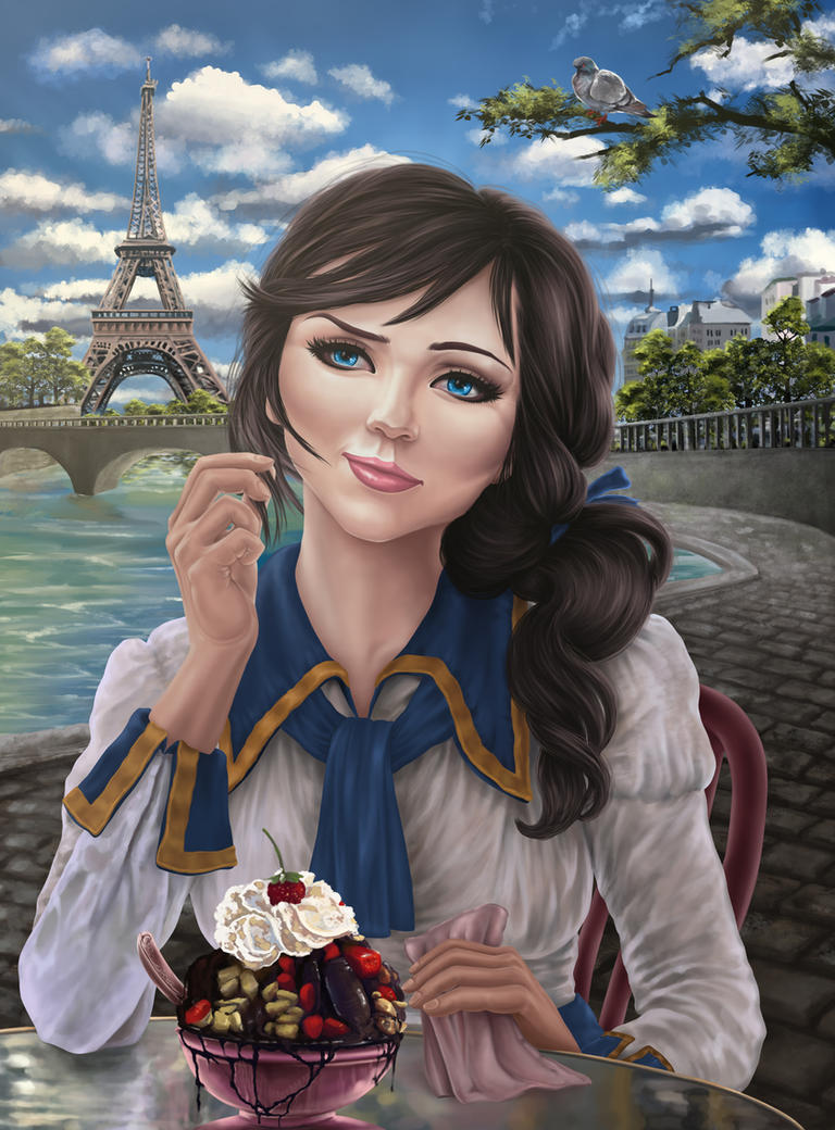 Elizabeth of Bioshock by Hellkrusher