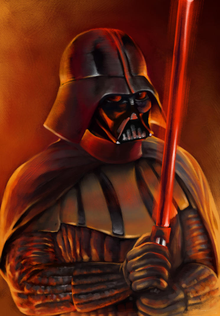Darth Vader by Hellkrusher