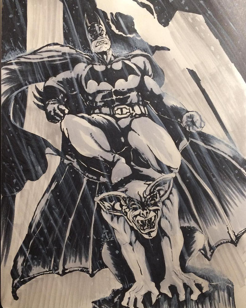 Batman by Hellkrusher