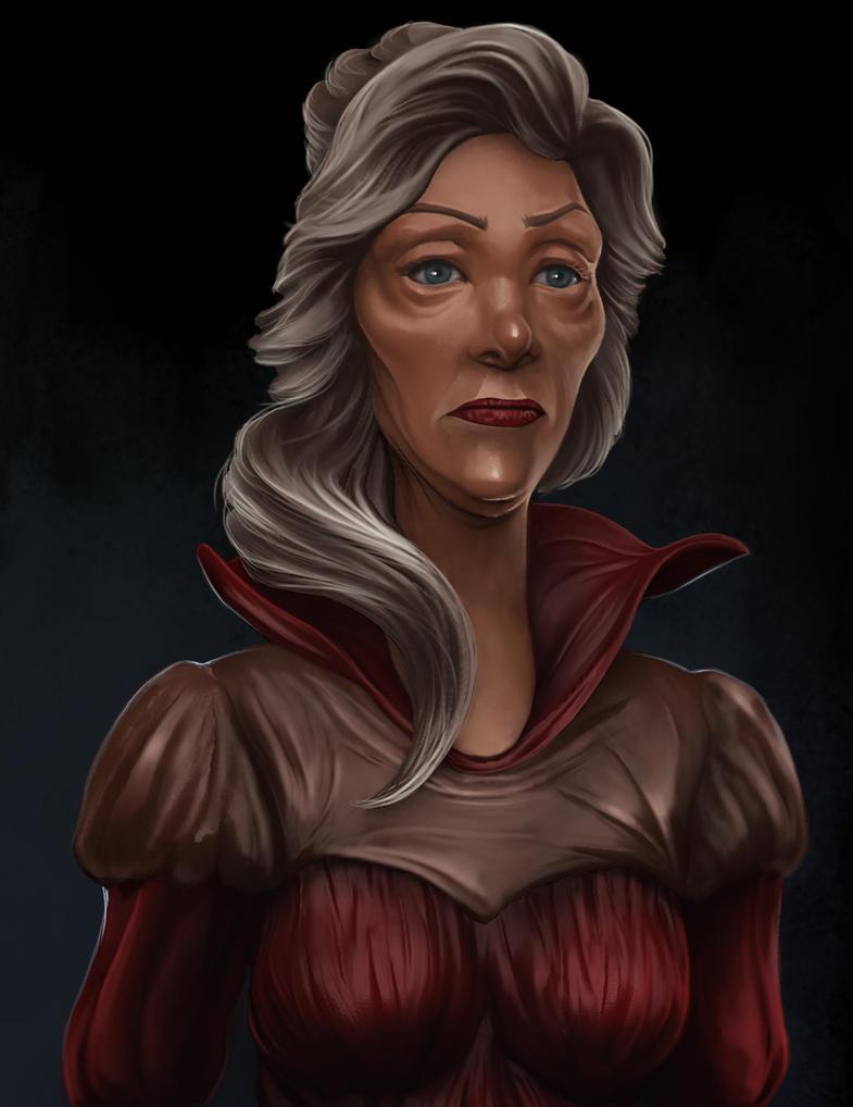 Madame Bouchart by Hellkrusher