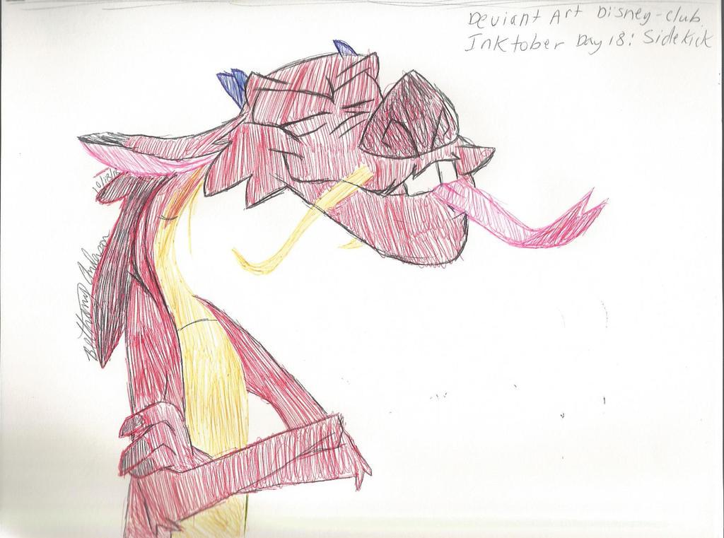 Disney-cub Inktober Day 18: Sidekicks by Sakuras-Light