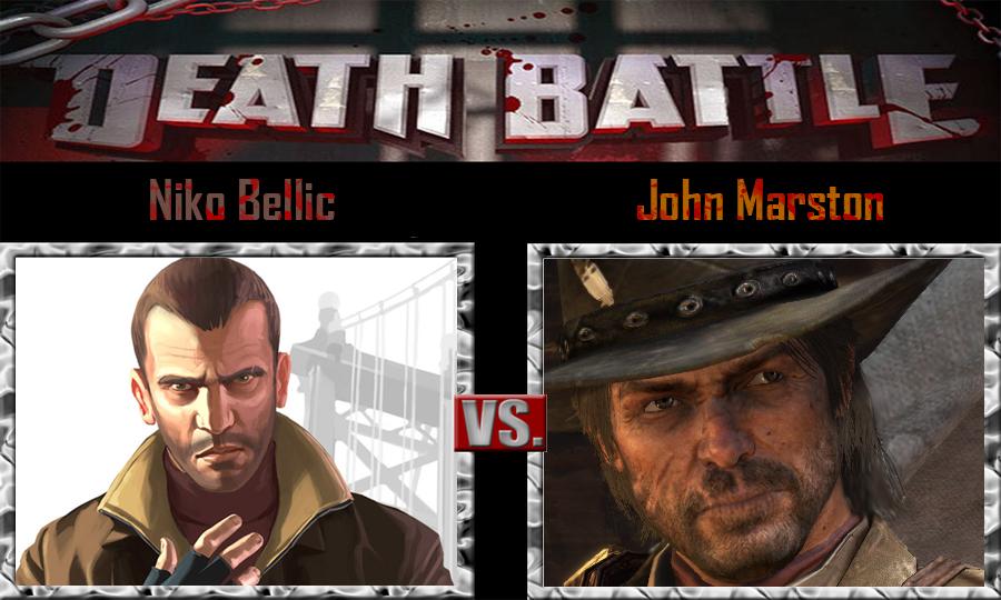 niko bellic vs john marston by sonicpal on deviantart