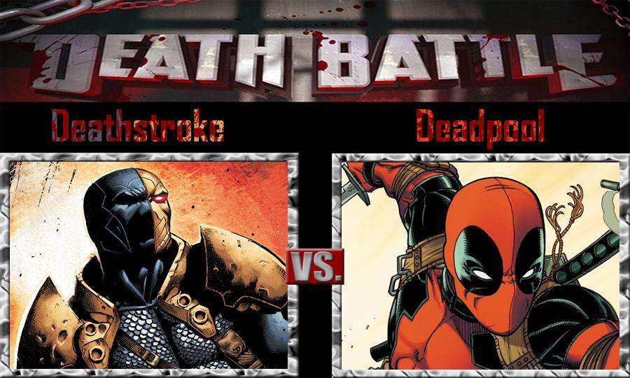 Deathstroke Vs Deadpool By SonicPal