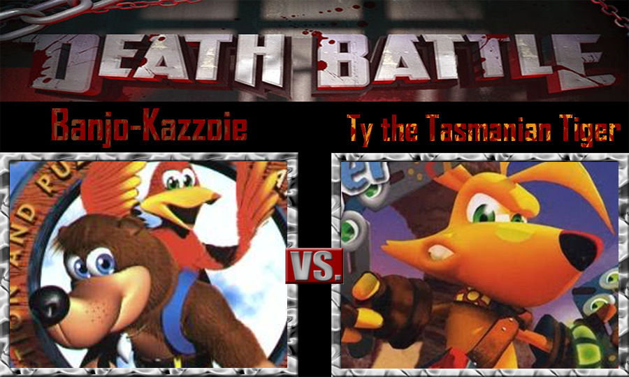 Banjo-Kazzoie vs Ty the Tasmanian Tiger by SonicPal