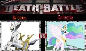 Arceus vs Princess Celestia