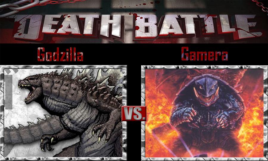 Godzilla vs Gamera by SonicPal