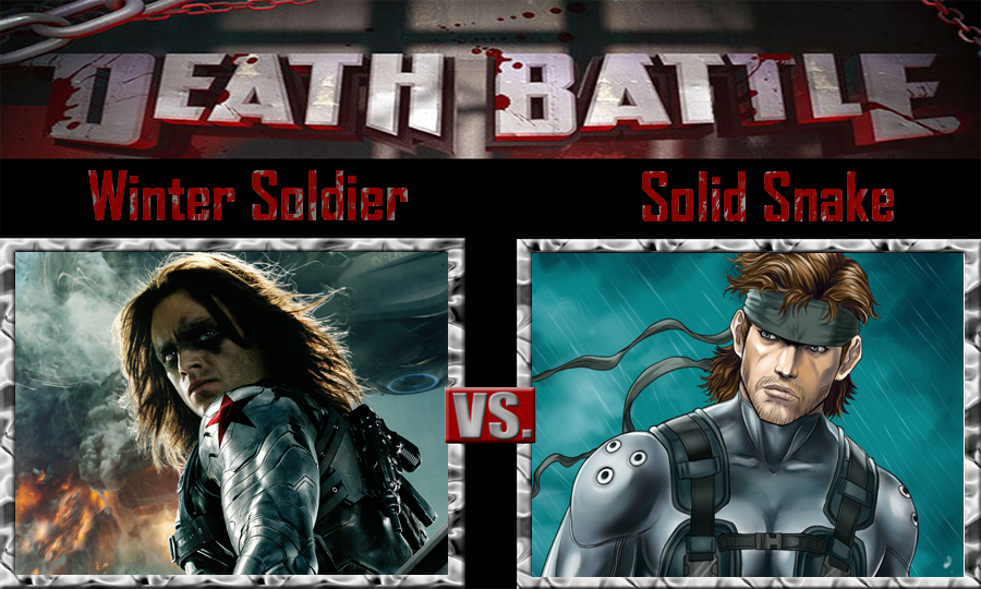Winter Soldier Vs Solid Snake By Sonicpal On Deviantart