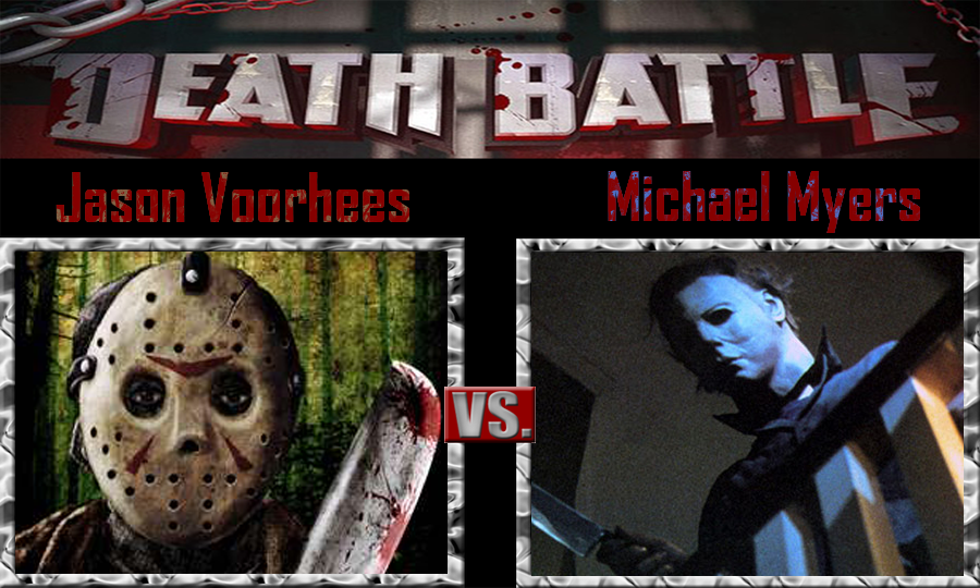 Jason Voorhees Vs Michael Myers By SonicPal