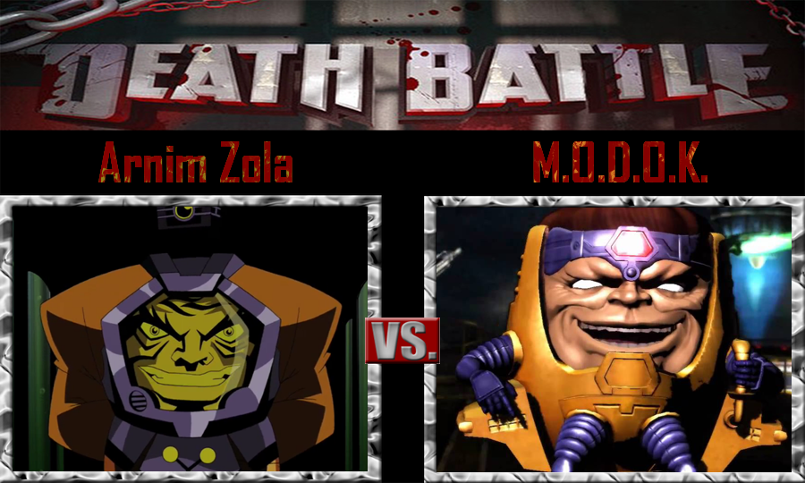 Arnim Zola And MODOK