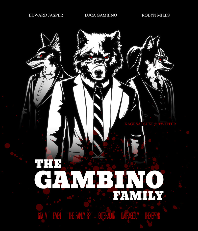 The Gambino Family by kagesatsuki