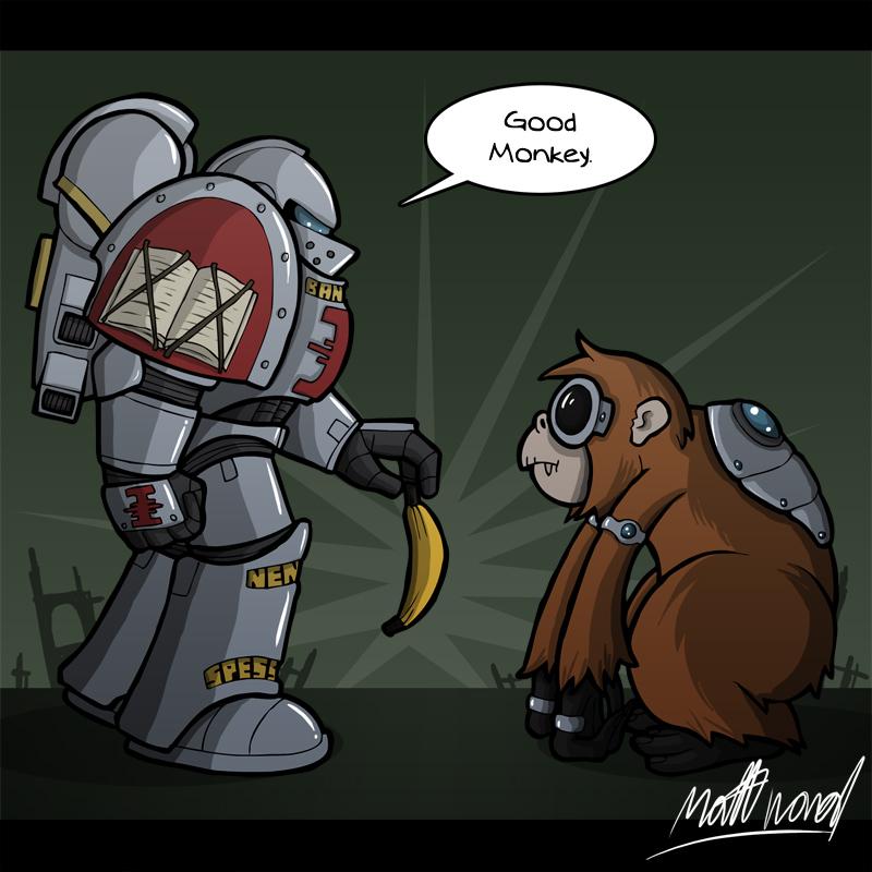 Good Monkey by wibblethefish