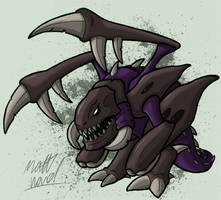 Zergling by wibblethefish