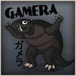 Gamera The Invincible by wibblethefish