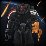 40k: Brother Commander Shepard