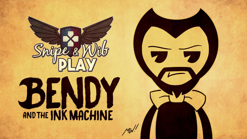 bendy and the ink machine title