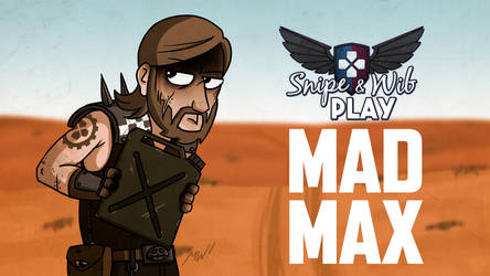 Mad Max Title Card by wibblethefish