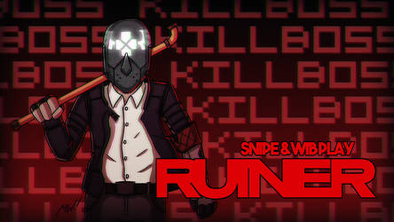 Ruiner Title Card by wibblethefish
