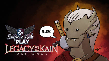 Legacy of Kain: Defiance Title Card by wibblethefish