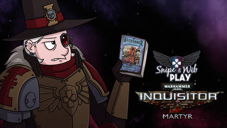 Inquisitor Martyr Title Card by wibblethefish