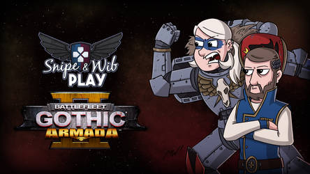 Battlefleet Gothic Armada 2 Title Card by wibblethefish