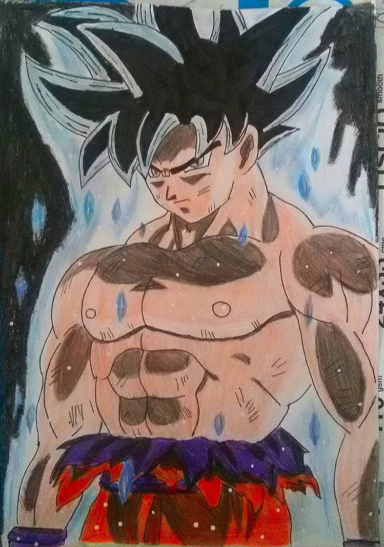 Goku limit breaker new form - Art Demy by Demy111