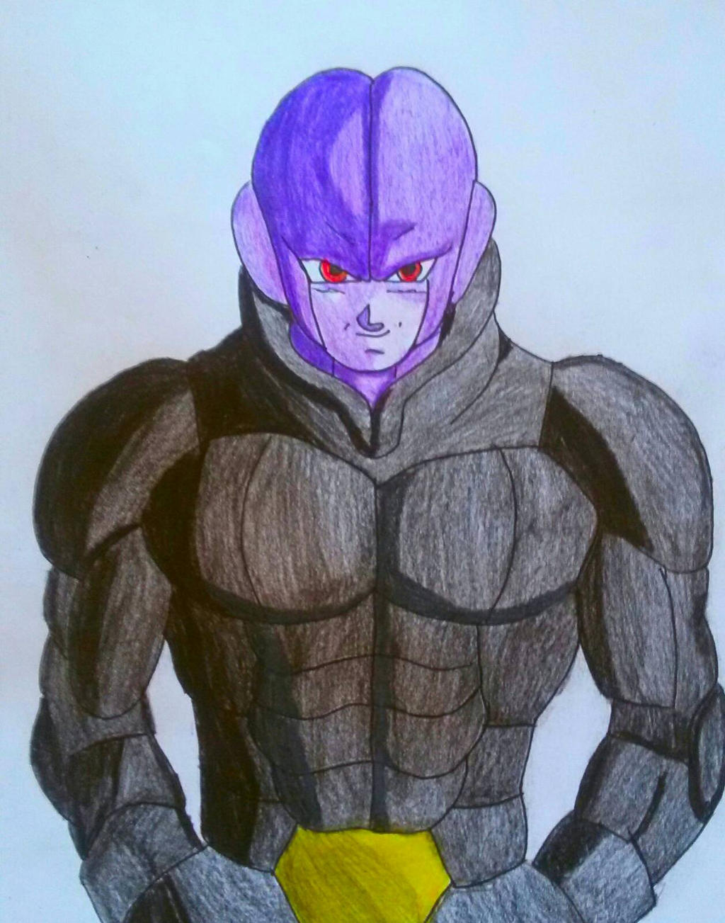 Hit the assasin from Dragon ball super! By Demy by Demy111