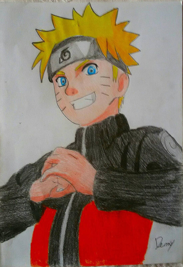 Naruto Uzumaki by Demy ( Naruto shippuden) by Demy111