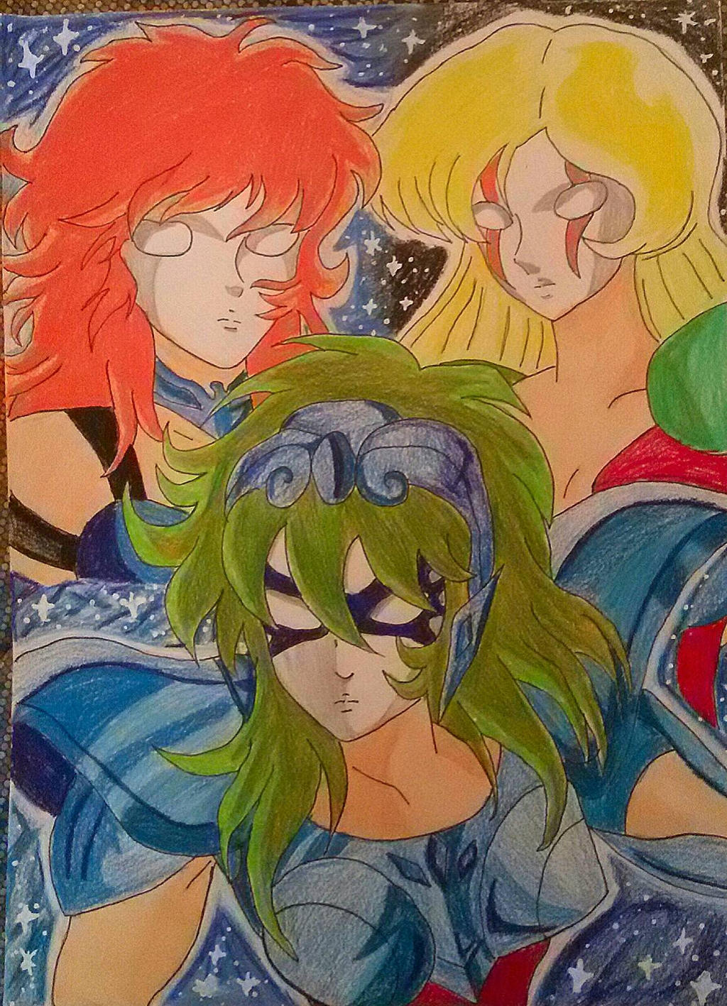 Female Characters saint seiya by Demy by Demy111