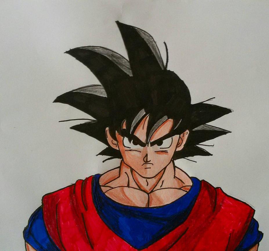 Goku Base Form by Demy by Demy111