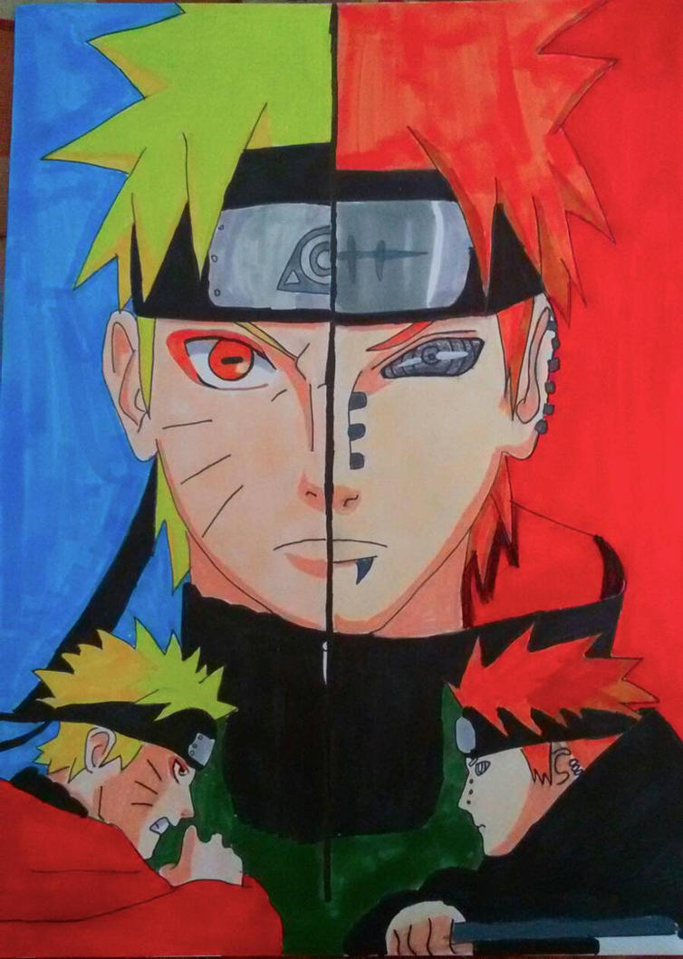 Naruto / Pain From Naruto Shippuden By Demy by Demy111