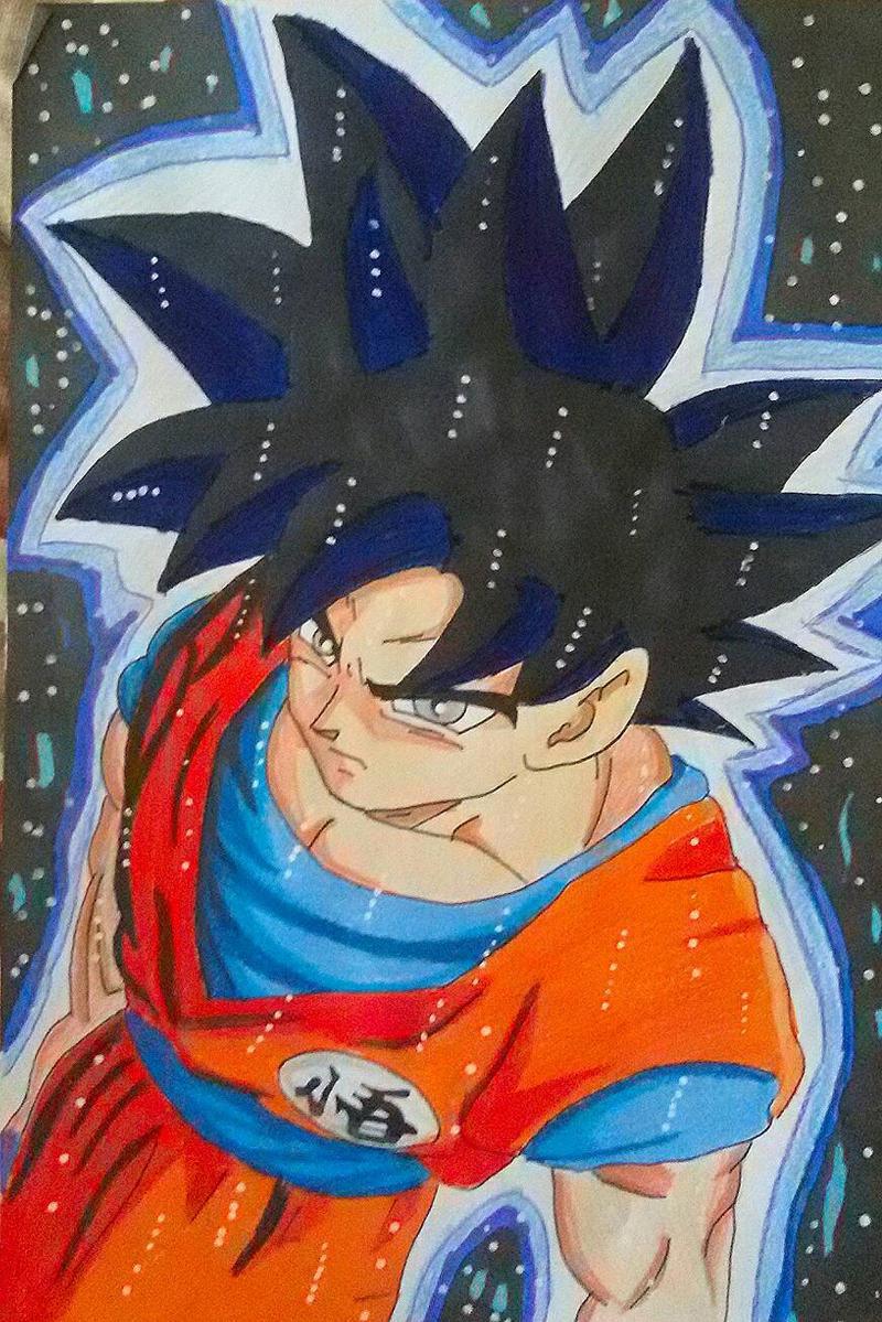 Goku Ultra instinct/ migatte no gokui By Demy by Demy111