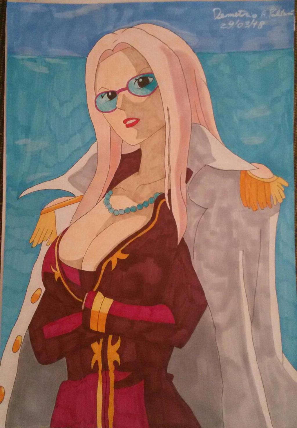 One Piece Hina By Demy by Demy111