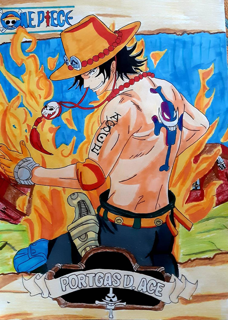 One Piece Portgas D. Ace by Demy by Demy111