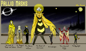 The Pallid Masks of the Yellow King
