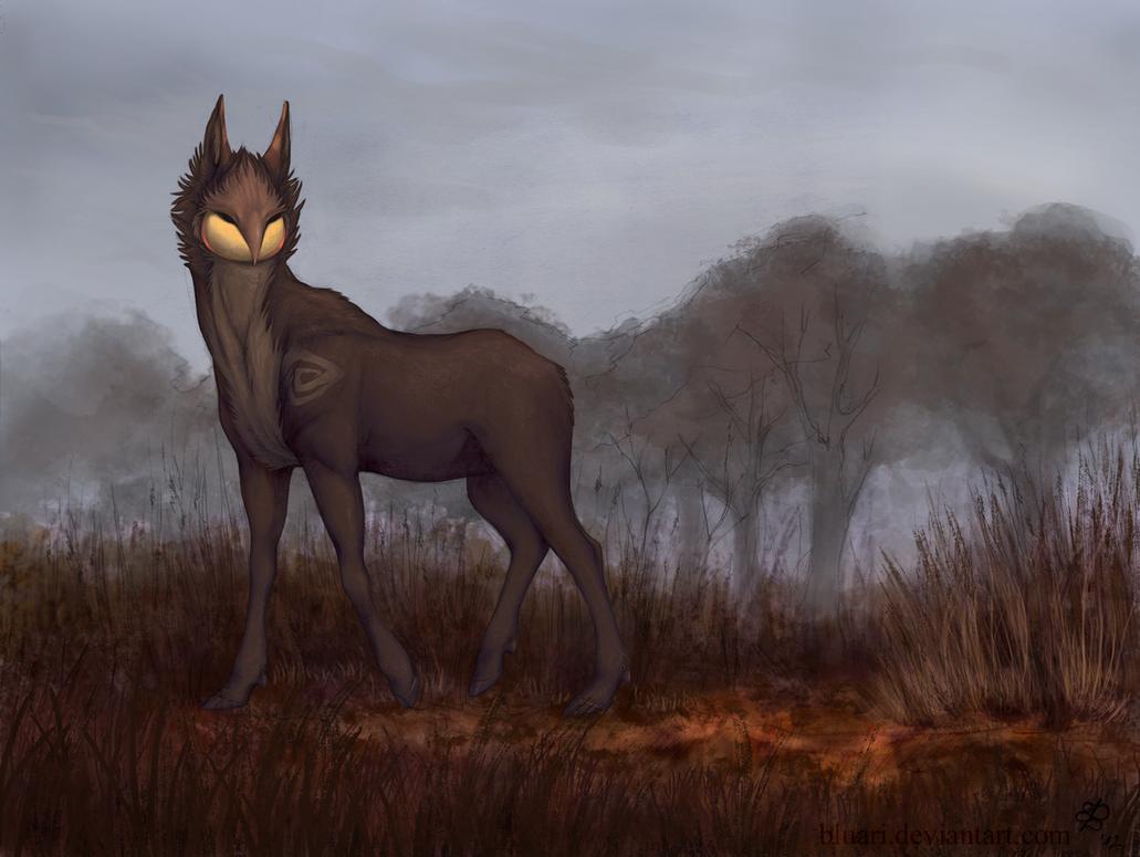 gloomy morning by Bluari