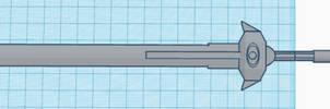 Refined Legionbane 3D print